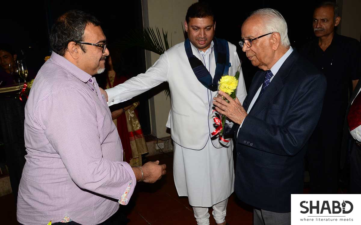 Shabd Literature Dinner with Governor
