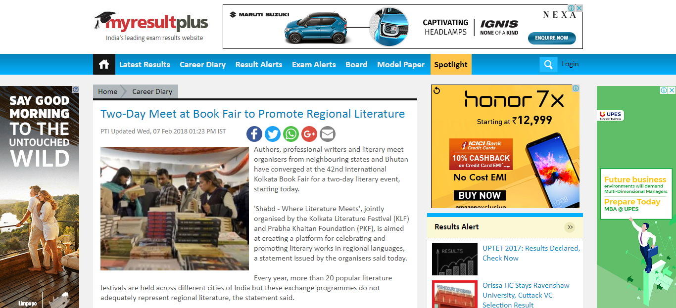 Two-Day Meet at Book Fair to Promote Regional Literature_1