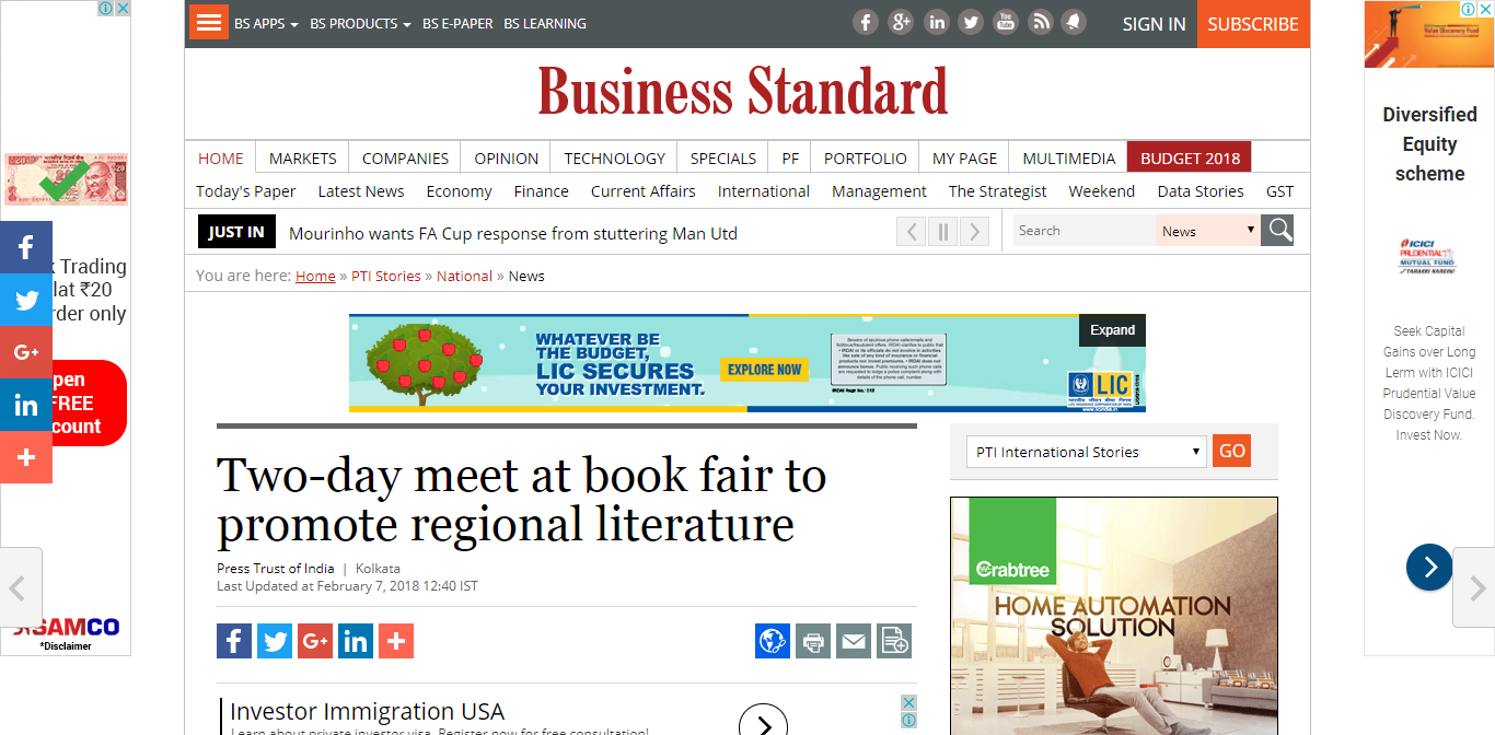Two-day meet at book fair to promote